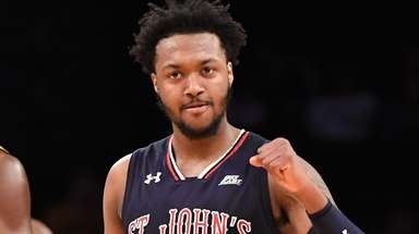 Shamorie Ponds is pumped during St. John's win