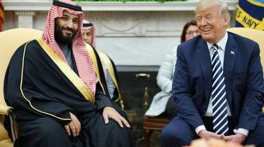 Saudi Arabia's Crown Prince Mohammed bin Salman is