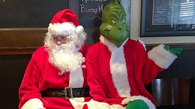Brunch with The Grinch and Santa takes place