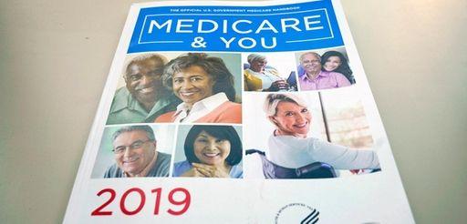 The U.S. Medicare Handbook is photographed Thursday, Nov.