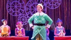 "Erik Gratton stars as Buddy ""Elf the Musical"""
