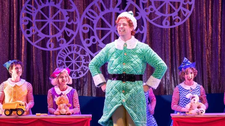 "Erik Gratton stars as Buddy ""Elf the Musical"""