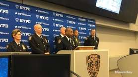 Rodney Harrison, NYPD chief of patrol, describes Tuesday