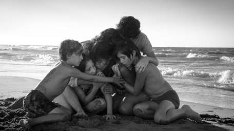 From left: Marco Graf, Daniela Demesa, Yalitza Aparicio,