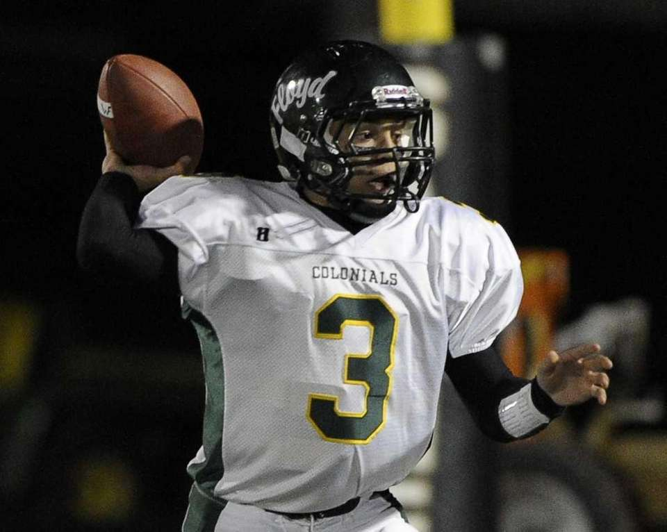 William Floyd's A.J. Otranto looks to throw in