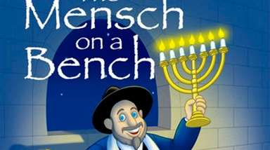 "Neal Hoffman created ""Mensch on a Bench,"" a"