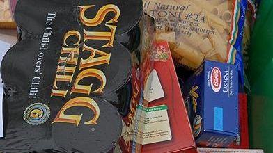Island Harvest food drive items