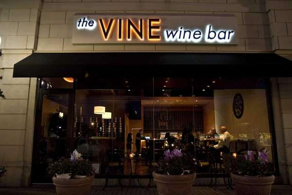The Vine Wine Bar is on Merrick Road