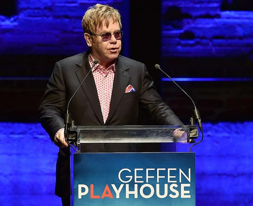Elton John is the founder of the Elton