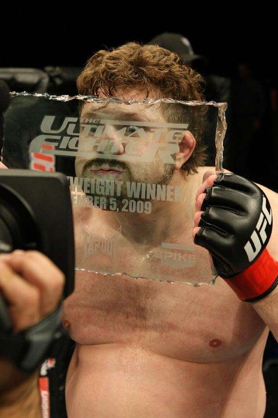 Season 10 champion, heavyweight: Roy Nelson knocked out