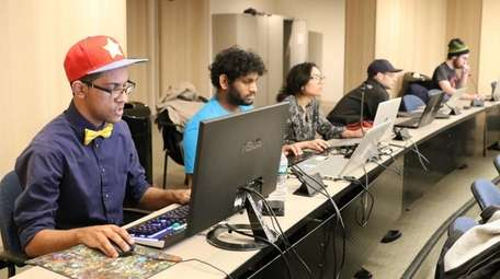 NYIT's esports team competes on campus.