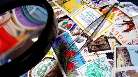 Stamp collecting is a popular hobby.
