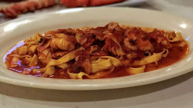 Lobster fra diavolo is one of the lobster-night