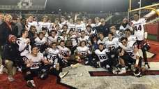 Cold Spring Harbor defeated Shoreham-Wading River, 42-20, in