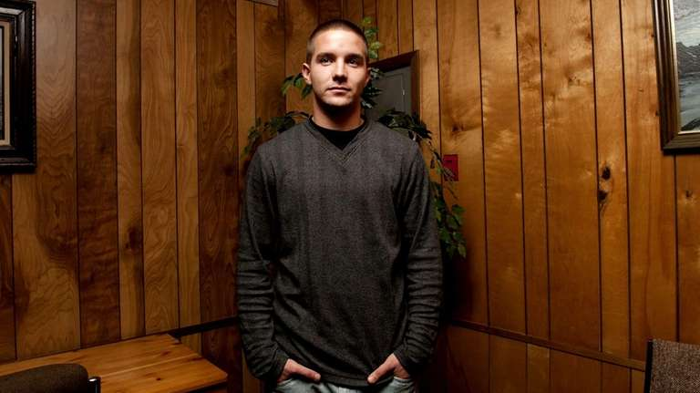 Thomas Burke, a recovering heroin and OxyContin addict,