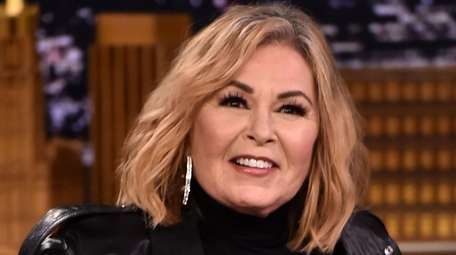 "Roseanne Barr appears on ""The Tonight Show Starring"