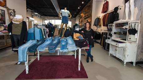 Merav Shiloni, owner of Thred, a clothing boutique