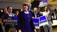 Sen. Amy Klobuchar (D-Minn.), seen Nov. 6, is