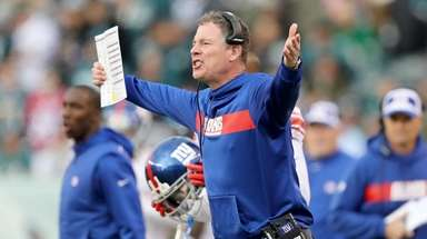 Head coach Pat Shurmur of the New York