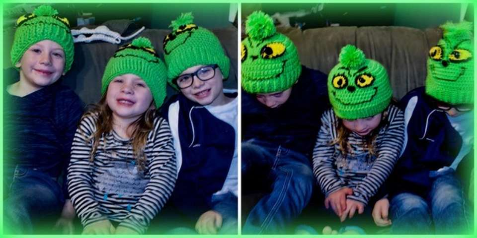 My little grinches!