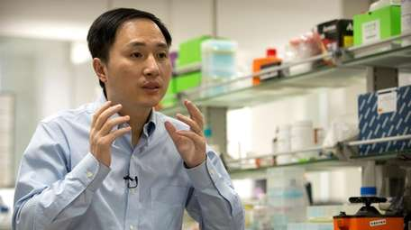 Chinese scientist He Jiankui claims he helped make