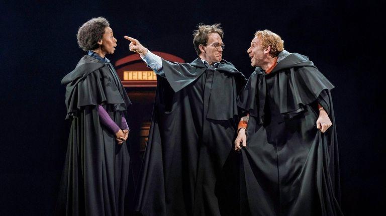 Noma Dumezweni as Hermione Granger, Jamie Parker as