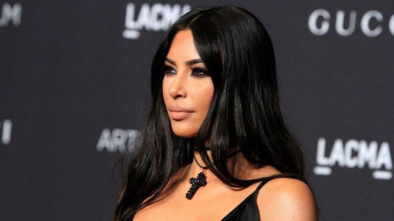 Kim Kardashian Attends The Lacma Art Film