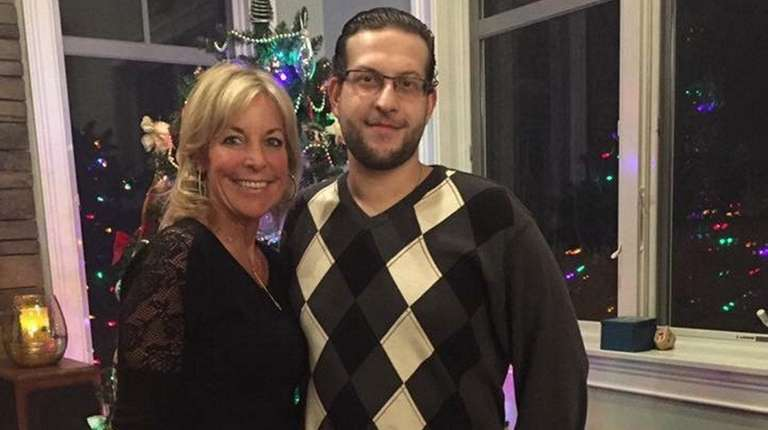 Sharon Richmond and her son, Vincent, in 2016.