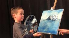 Noah Snow, 6, of Dix Hills, N.Y., is