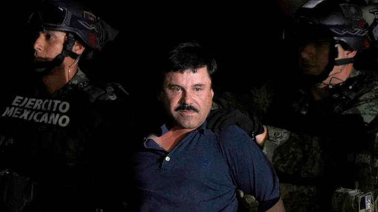 "Joaquín ""El Chapo"" Guzmán Loera, 58, is charged"
