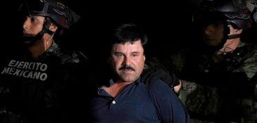 """Joaquín """"El Chapo"""" Guzmán Loera is shown in"""