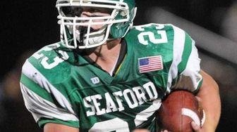 Seaford High School running back #23 Travis Langan