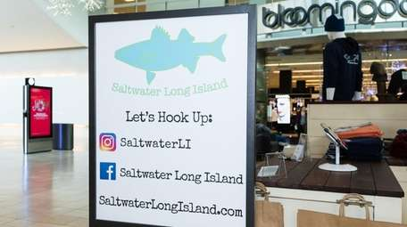 Saltwater Long Island, which sells branded clothing online