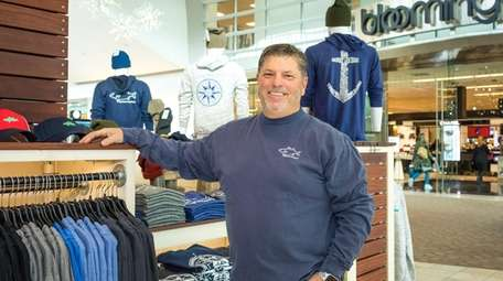 Buddy DeMarco, owner of Saltwater Long Island, encourages