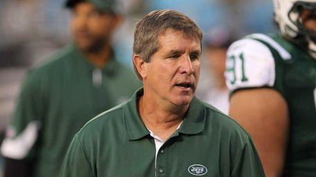 Jets assistant coach Bill Callahan.