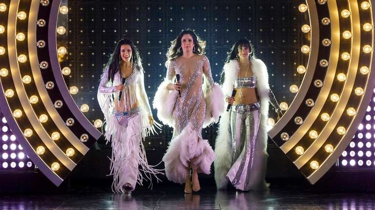 The three phases of Cher: Teal Wicks, left,
