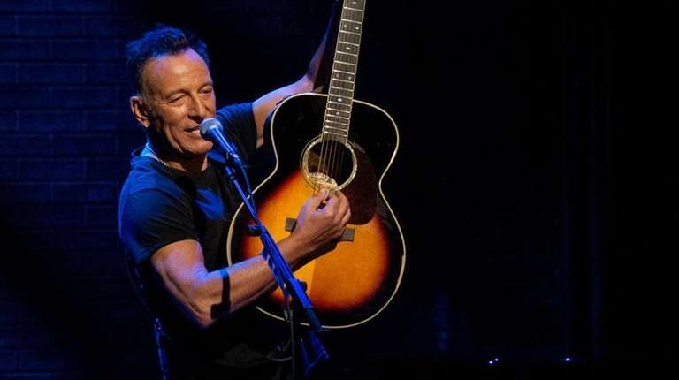 "Netflix is airing ""Springsteen on Broadway"" on Dec.16."
