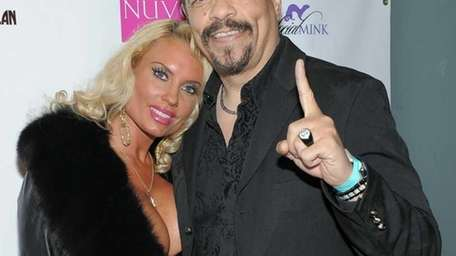 Coco and rapper-actor Ice-T attend Kim Kardashian's 30th
