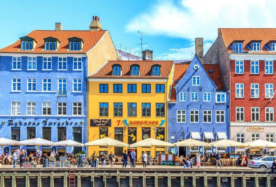 COPENHAGEN, DENMARK - JULY 3, 2016: Nyhavn a