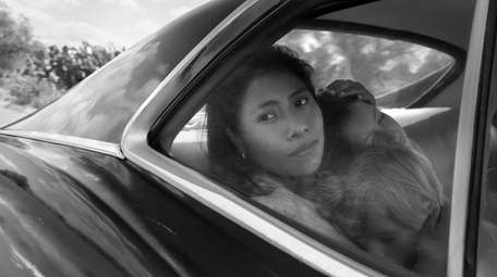 "Yalitiza Aparicio in ""Roma"" by filmmaker Alfonso Cuarón."