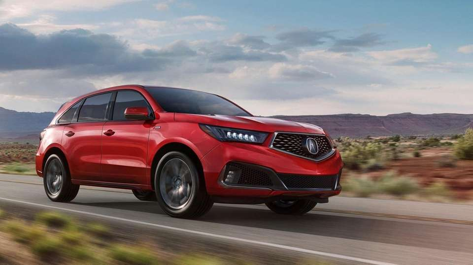 2019 Acura MDX A Spec looks sporty but