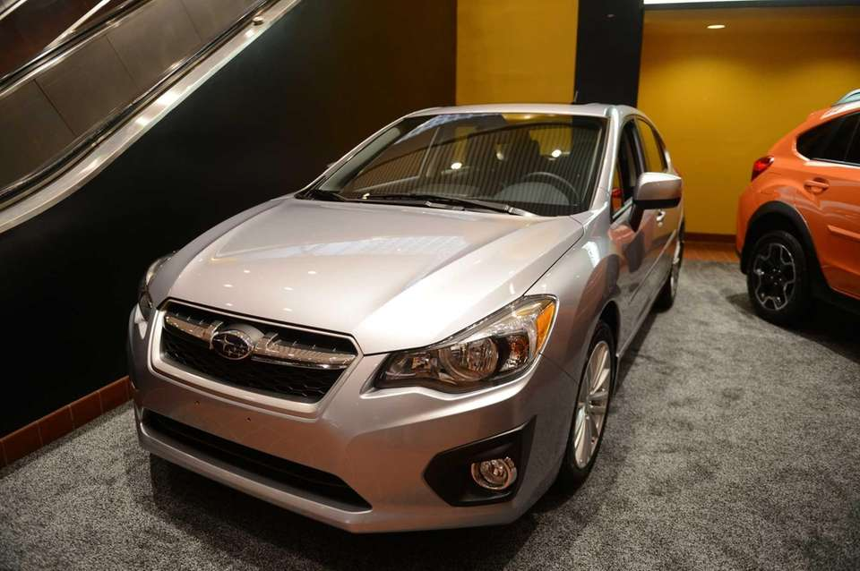 The 2013 Subaru Impreza at the Long Island