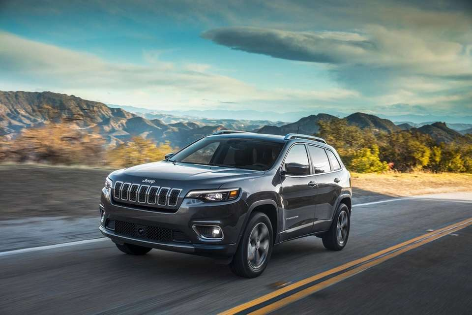 2019 Jeep Cherokee, Base-price $23,995-$36,275. This midsize SUV