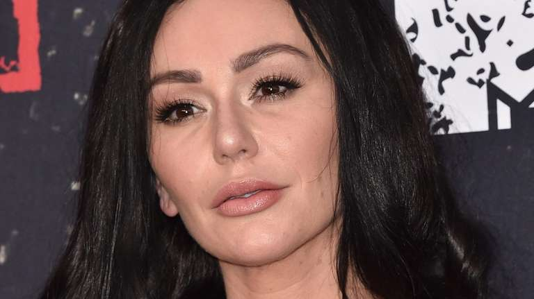 "Jenni ""JWoww"" Farley attends the premiere of"