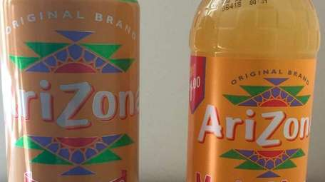 """Arizona Iced Tea's """"no preservatives"""" and serving-size labeling"""