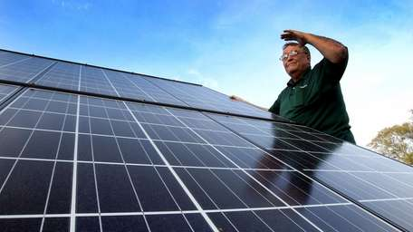 Gary Minnick, owner of Go Solar Incorporated in
