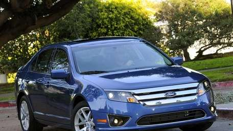 The 2010 Ford Fusion.