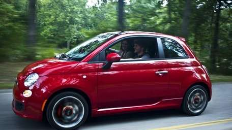 The North American model of the Fiat 500
