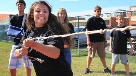 Deer Park High School freshman Sabrina Rudden, 13,