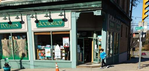Dolphin Bookshop, located 299 Main Street in Port